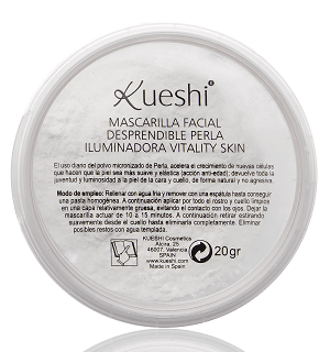 Kueshi Facial Peel-off Mask Illuminating Pearl Vitality Skin