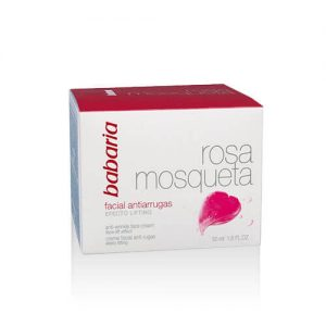 Babaria-anti-wrinkle-facial-cream-rosehip-oil